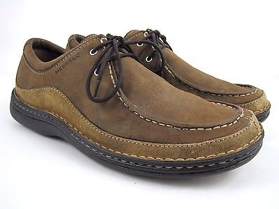 MERRELL Oracle Peat Moss Men's Brown Leather Lace Up Oxford Shoes Size 11