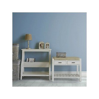 Porte-revues blanc - Collection Serious Line by Homania - Neuf