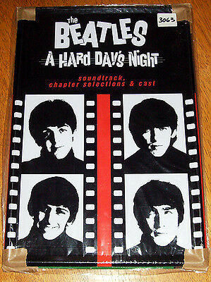 The Beatles Hard Day's Night Tin Wall Sign