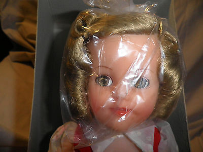 "Vintage Ideal Vinyl Shirley Temple Doll - Ward 14"" 1972 - NRFB Mint New"