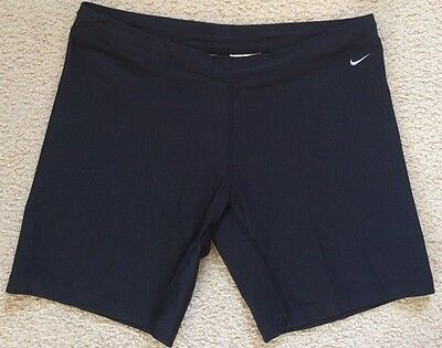 Nike Fit Dry Running Sports Compression Shorts Tights Poly Spandex Mens M VGC