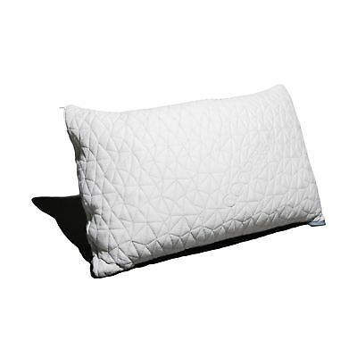 Coop Home Goods Shredded Hypoallergenic Memory Foam Pillow with Removable Polyes