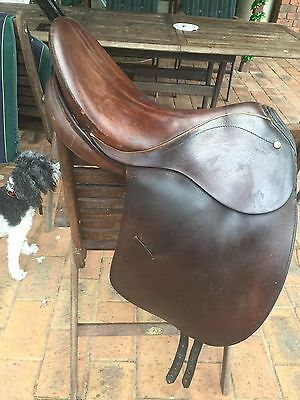 Bates English Dressage  Saddle