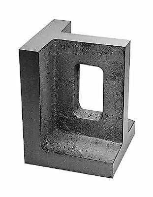 "HHIP 3402-0103 4"" x 4"" x 6"" Non-Slotted Right Angle Plate"