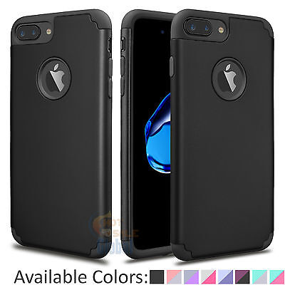 Luxury Ultra Thin Shockproof Bumper Hard Case Cover For iPhone 7 6S Plus +