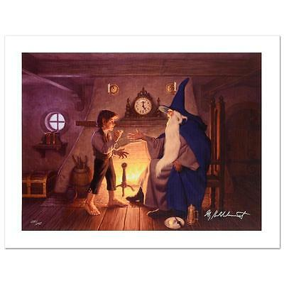 """Hildebrandt Bothers """"the One Ring"""" Le Sn Giclee, Coa Lord Of The Rings"""