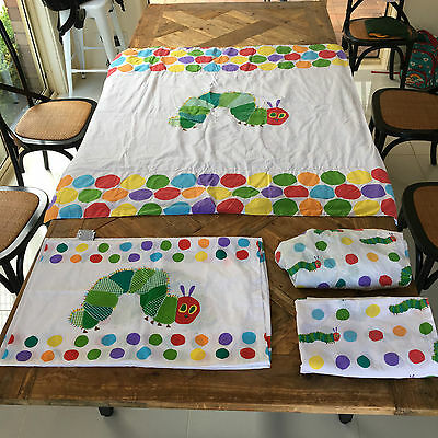 The Very Hungry Caterpillar Infants Cot Sheet Set