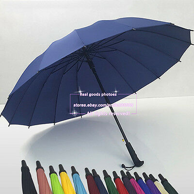 Premium Quality Golf Umbrella Large Automatic Folding Men's Women's Unisex