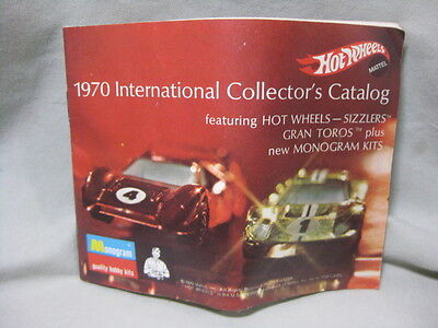 Vintage 1970 Hot Wheels International Collector's Catalog