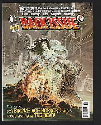 Back Issue Magazine #52 Comic Fanzine VF/NM 9.0 Wrightson Cover