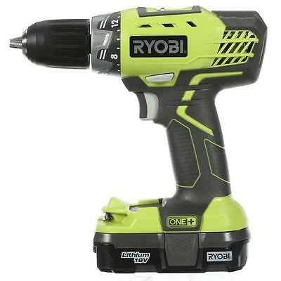 Ryobi ONE+ 18V Cordless Drill P271 + BATTERY + CHARGER + CARRY CASE BRAND NEW