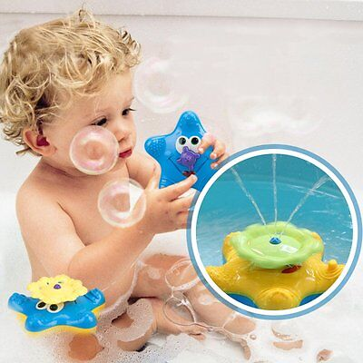 Cikoo Electric Bathing Bathroom Water Spraying Stelleroid Tool For Children E1