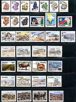 NAMIBIA Sc#659/754 1990-1993 Years Near Complete OG Mint NH