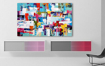 Large Modern Wall Art / Décor - Hand Painted Abstract Oil Painting on canvas