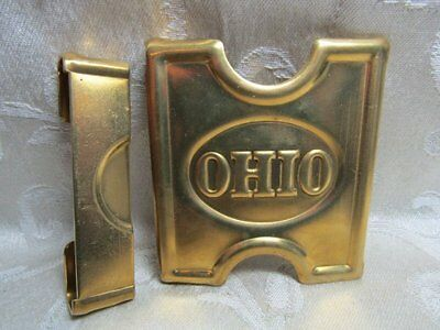 Indian Wars REPRODUCTION Ohio National Guard Belt Buckle by Anson Mills
