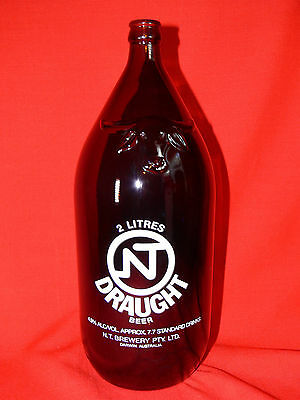 NT Draught Beer DARWIN STUBBY 2 Litre Bottle No longer Being Produced COLLECTORS