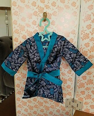 American Girl Tenney Grant Robe & Star Hanger Only from Stage Dressing Room NEW