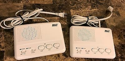 2 NOVI WI-3s 4-Channel FM Wireless Intercom