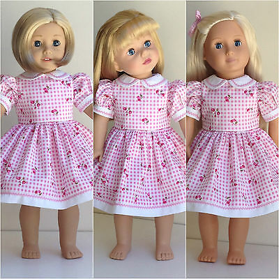 "American Girl, Gotz, Our Generation, Journey Girl, 46cm 18"" Doll Clothes Dress"
