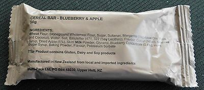 CEREAL BAR   Blueberry & Apple  from AUSTRALIAN  RATION PACK (MRE)  Food    CR1M