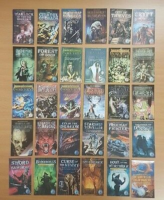 Fighting Fantasy Bookmarks ***WIZARD SET 1-29!!*** Quality Laminated Card