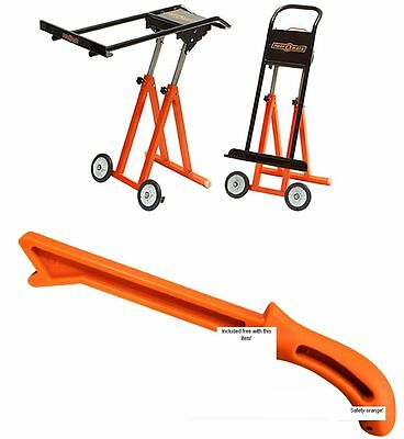 COMBO Portamate Plywood Panel carrier with Free Push Stick for Table Saw safety