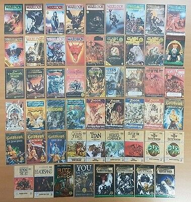 Fighting Fantasy Bookmarks ***53 EXTRA TITLES!!*** Quality Laminated Card