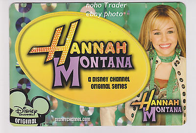 2005 PRMO HANNAH MONTANA A DISNEY CHANNEL ORIGINAL NOT DETACHED Rare MILEY CYRUS