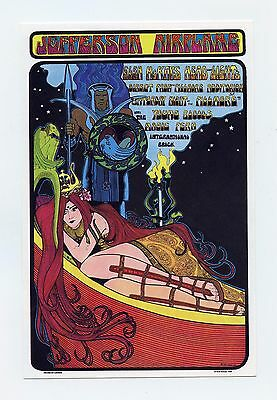 Jefferson Airplane Handbill 1967 Sep 23 Seatlle Center Bob Masse