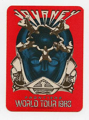 Journey 1983 Frontiers World Tour Backstage Pass