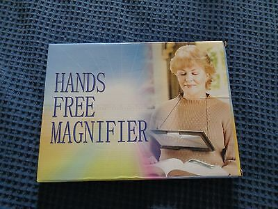 Magnifying Glasses Hands Free - with legs and neck hanger