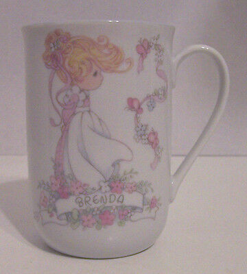 "Precious Moments Cup for Brenda by  Enesco ""Beauty Wtih a Noble  Spirit"""