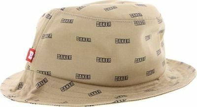 Baker Louie Bucket Hat Medium/Large Khaki/Black /Supreme/Thrasher/Primitive