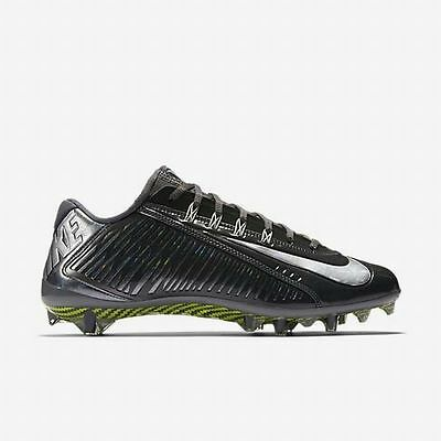 Nike Vapor Carbon Elite Td Football Cleats Size 13 Anthracite Silver 631425-001