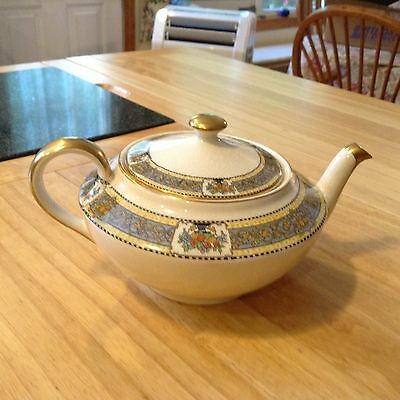 "Extremely RARE Antique Boston Pottery Tea Pot ""Lockwood"" late 1800's"