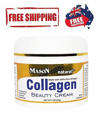 Mason Collagen Anti-Aging Cream Natural with 100% Pure Collagen Anti Wrinkle 57g