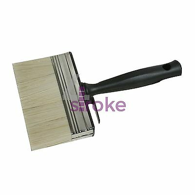 Brush Shed & Fence - 125mm Painting Treatment Varnish Creosote Decorating