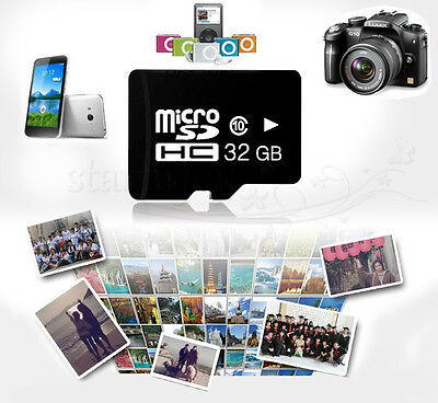 32 64 128 GB Micro SD TF Memory SDHC SDXC Card Class 10 Flash For Mobile Phone