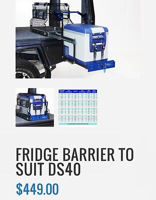 MSA Fridge Barrier to suit DS40 drop slide ( FBDS40 )