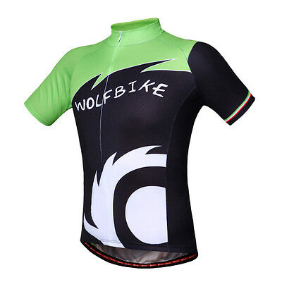 NEW Men's Cycling Jersey Bike Bicycle Outdoor Sports Shirts Tops CN Size 44 inch