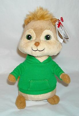 Ty Beanie Babies Baby Theodore Plush Alvin and the Chipmunks Squeakquel with Tag