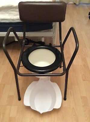 commode toilet/bathroom aid and portable bidet