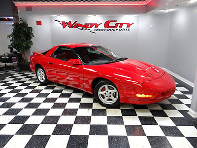 1995 Pontiac Firebird Formula 1995 Pontiac Firebird Formula Coupe 1 Owner 6-Spd Only 32k Miles Rare Red On Red