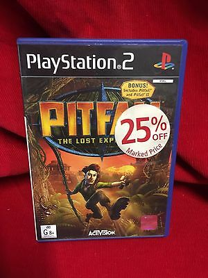 Pitfall The Lost Expedition Game PS2 Playstation 2