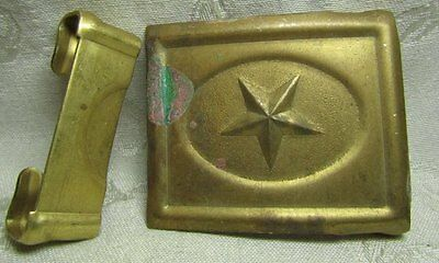 Indian Wars REPRODUCTION Texas Army Ammunition Belt Buckle by Anson Mills