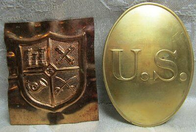 Indian Wars REPRODUCTION Army Belt Buckles Lot Of 2
