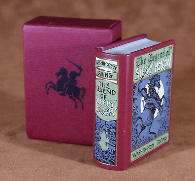 MINIATURE BOOK  The Legend of Sleepy Hollow