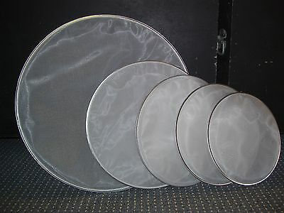 SET DUAL PLY MESH DRUM HEADS (12,13,14,16 and 22inch)