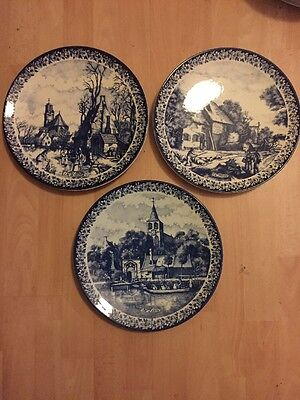 Delft Plates Chemkefa Holland Blue And White Holland