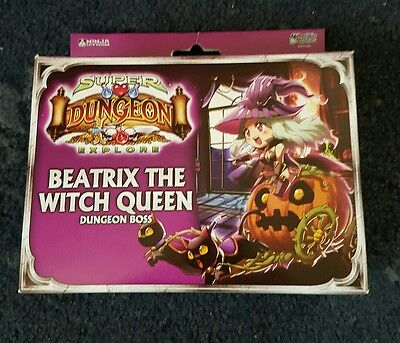 super dungeon explore beatrix the witch queen dungeon boss expansion pack